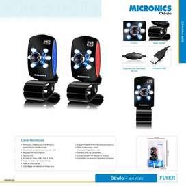 Cámara Web Micronics HD 720P