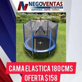 TRAMPOLIN CAMA ELASTICA 1.8CM