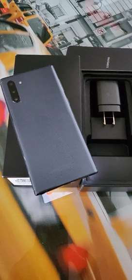 Samsung Note 10 Aurora Black doble sim 256 Gbytes