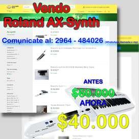 Sintetizador Roland AX - Synth