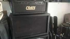 Cabezal crate americano y caja 2x12