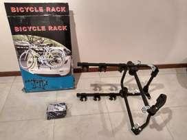 Rack porta bicicletas para autos
