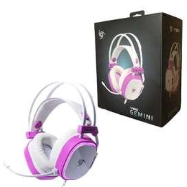 Audífonos Gemini White marca VSG
