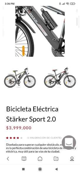 A la venta hermosa Bici electrica