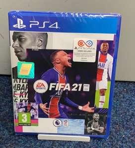 FIFA 21 PS4, JUEGO FISICO