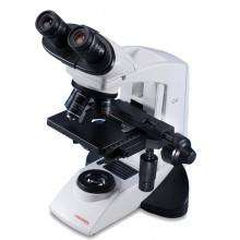 MICROSCOPIO BINOCULAR PARA LABORATORIO  ESTANDAR , LUZ LED