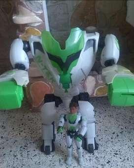 Robot N- Tek Y Muñeco Max Esteel