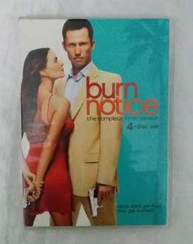 Burn notice pack 4 discos dvd primera temporada oferta