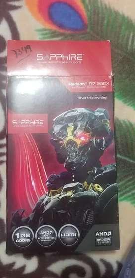 Vendo tarjeta de video Radeon R7 250x