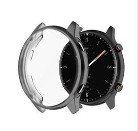 Funda Reloj Amazfit Gtr 2 Protector De Pantalla En Silicona
