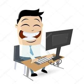 Buscamos personas con manejo basico de computador