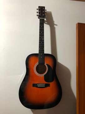 guitarra tipo folk hingrey