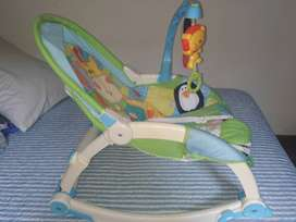 Silla mecedora antireflujo  fisher price
