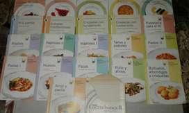 21 Fasciculos Clarín de Cocina.