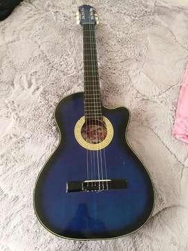 Guitarra acustica Funciona congolpe