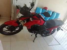 Moto Honda Cb125F Roja