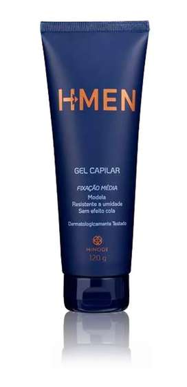 Gel Capilar H-men Cabello Pelo Hombre Pote Sin Efecto Pegamento Fijación Peinado