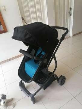 Coche Moisés + silla adaptable para coche  y carro