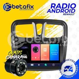 RADIO ANDROID PARA RENAULT LOGAN 2012/2021 GPS BT USB WIFI BETAFIX
