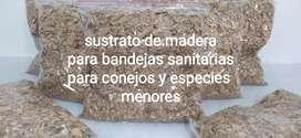 Sustrato de madera  para bandejas sanitarias o esquineras