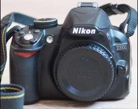 Nikon D3100 -cuerpo solo -