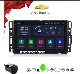 Radio android 10 Aveo Emotion, 9 pulgadas, GPS, Wifi, bluetooth