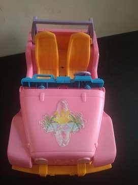 Jeep barbie, USADO para montar muñecas no niños