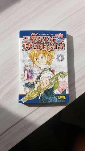 Manga Nanatsu no Taizai / The Seven Deadly Sins VOL 1 ORIGINAL NUEVO
