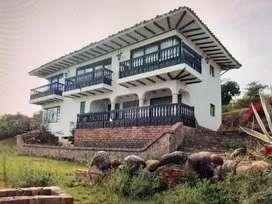villa de leyva casa en condominio 750.000000 recibo en parte clima cálido