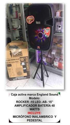 CAJA AMPLIFICADORA ENGLAND SOUND
