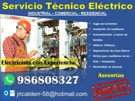 SERVICIO TÉCNICO ELÉCTRICO EN AREQUIPA