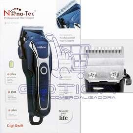 Maquina Peluquera Inalambrica Turbo Nano-tec Nt-cp620