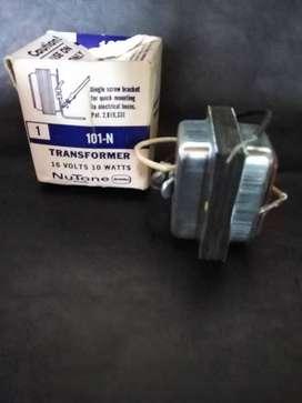 Transformador NUTONE 101N   16V 10W SCOVILL