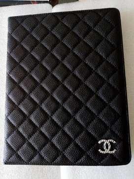 Folio Cover Leather Chanel, iPad 2, 3, 4