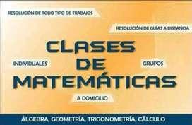Doy clases matematica y electronica