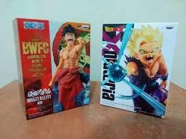 Figuras Dragon Ball y One Piece