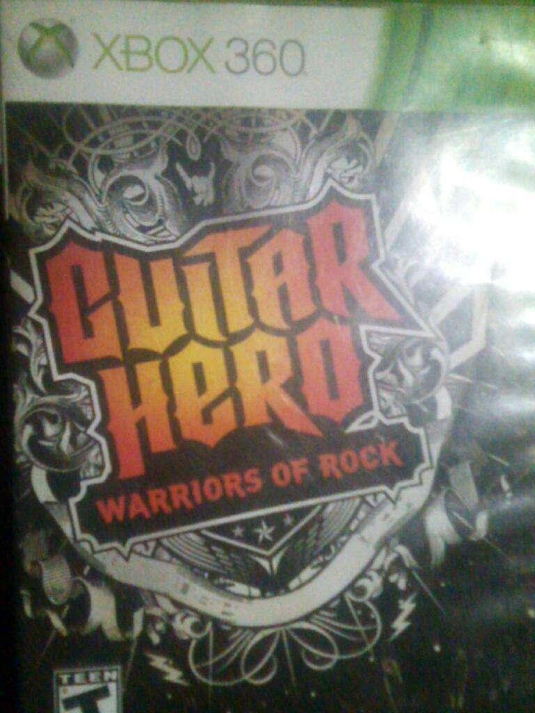 Guitar Hero Warriors Of Rock Xbox 360 0