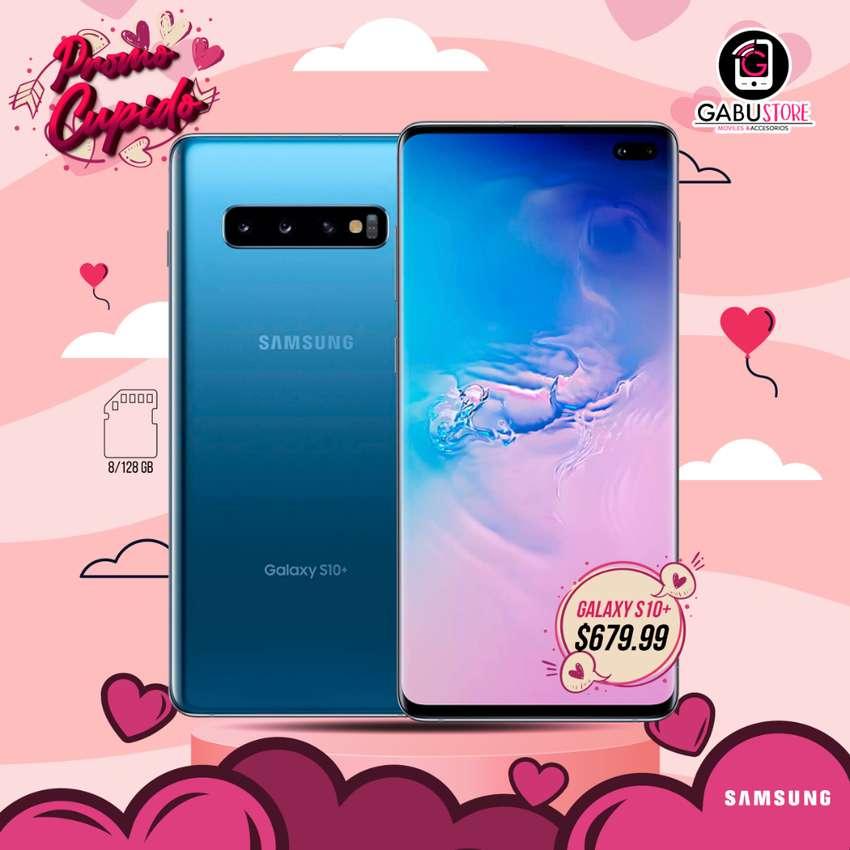 SAMSUNG GALAXY S10+ 8/128GB NUEVO CON GARANTIA 0