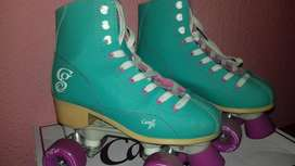 VENDO PATINES - Roller Derby- CANDY GIRL SABINA MINT