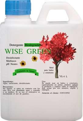 Detergente Biodegradable Especial para Baños