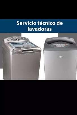 Reparaciones y mantenimientos de neveras y lavadoras técnico especializado.