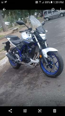 Yamaha mt 03 modelo 201..acepto auto