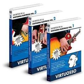 Curso de Guitarra Eléctrica en DVD,