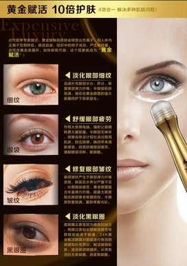 JAPON Suero Anti Ojeras Hidratante Ojos Contorno Obscuro Oro 24 K