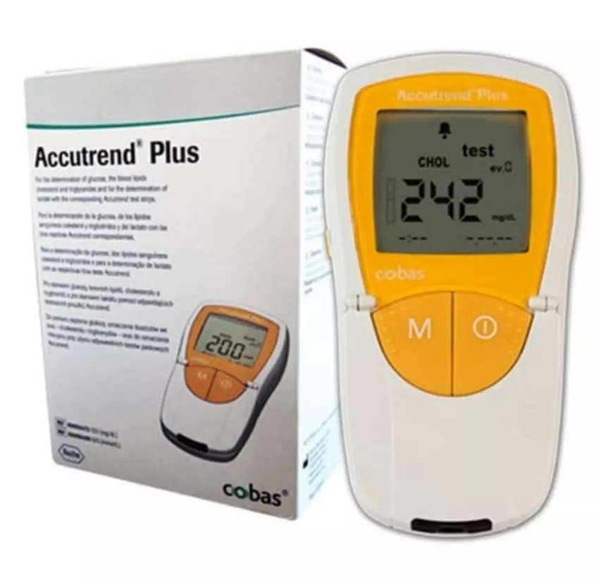 Analizador Accutrend Plus 0