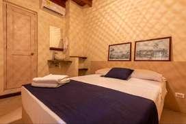 Habitación con baño privado en Getsemani