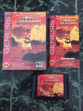Samurai shodown sega genesis / snes nes atari wii gamecube n64 3ds neogeo xbox