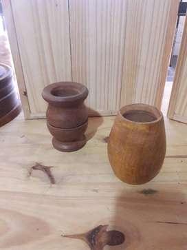 Vendo articulos de bazar en madera