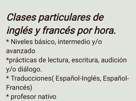 Clases francés e inglés