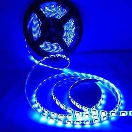 TIRA LED AZUL 5050 CON MOVIMIENTO 5 METROS